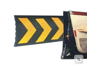 Kauczukowe zabezpieczenie ścian, odbojnica kauczukowa zabezpieczenie przed uderzeniem drzwi