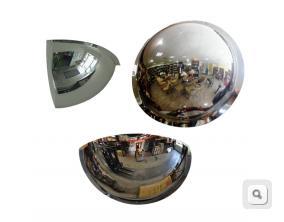 lustra polkuliste akrylowe, lustro 90,180,360 stopni, lustro sufitowe akrylowe, lustra tanie polkoliste