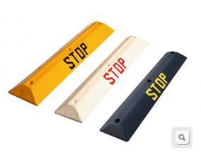 ogranicznik parkingowy stop, ograniczniki parkingowe stop, separator ruchu punktowy parkingowy