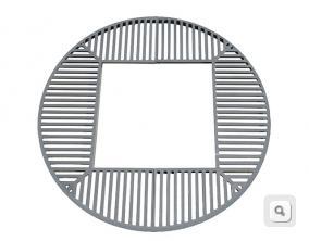 okrągła stalowa kratwnica