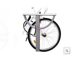 przypięcie do roweru, stojak do przypięcia opony roweru, stojak na rower