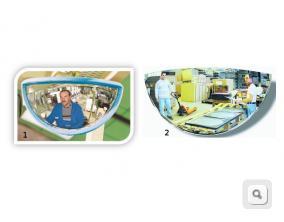 Lusterka do wózków widłowych VUMAX