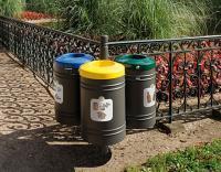 Kosze na śmieci Gujan do segregacji śmieci