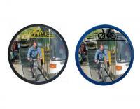 Lustra zwiększające bezpieczeństwo rowerzystów