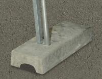 Płyta betonowa do tablic wyborczych