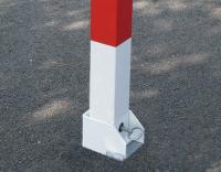 Słupki Strażackie Składane Biało-Czerwone