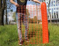 przeciwśnieżna pomarańczowa siatka polipropylenowa, siatka budowlana z tworzywa sztucznego