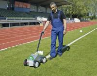 urządzenie do znakowania trawy i sztucznej murawy, urządzenie do znakowania boisk Sport Striper, malowarka do linii boiska