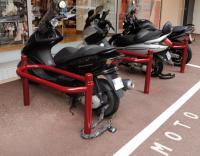 Stojaki Motocyklowe Dekoracyjne