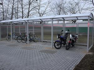 Wiaty rowerowe montaz, wiata rowerowa