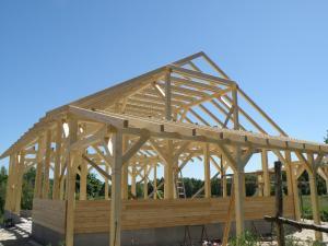 budynek konstrukcji drewnianej zdanowicz